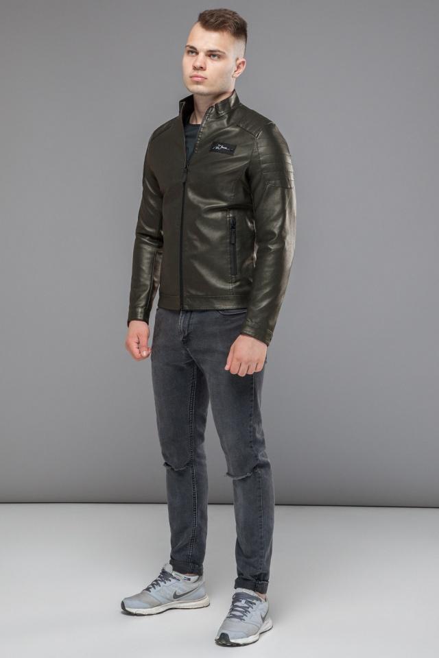 """Куртка мужская непромокаемая осенне-весенняя цвет хаки модель 36361 Braggart """"Youth"""" фото 2"""
