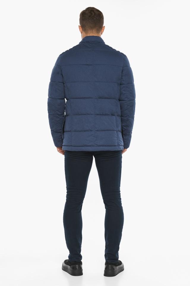 """Куртка – воздуховик зимний с карманами мужской цвета джинс модель 35230 Braggart """"Angel's Fluff Man"""" фото 9"""