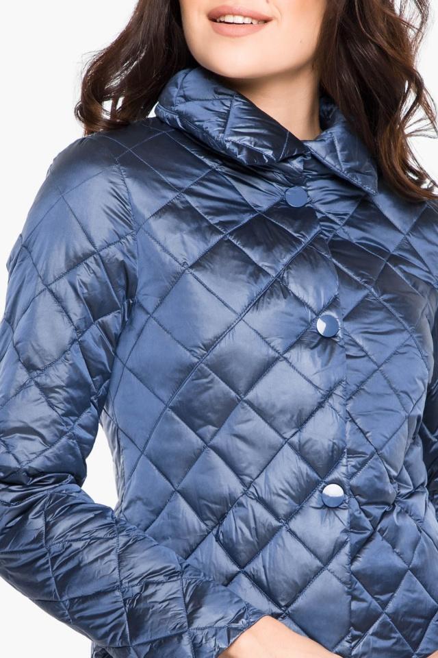 """Стеганая куртка женская цвет ниагара модель 20856 Braggart """"Angel's Fluff"""" фото 7"""