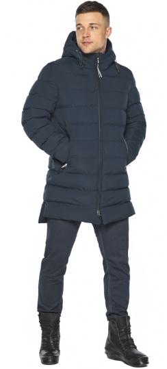 """Практичная зимняя куртка на мужчин тёмно-синяя модель 49080 Braggart """"Aggressive"""" фото 1"""