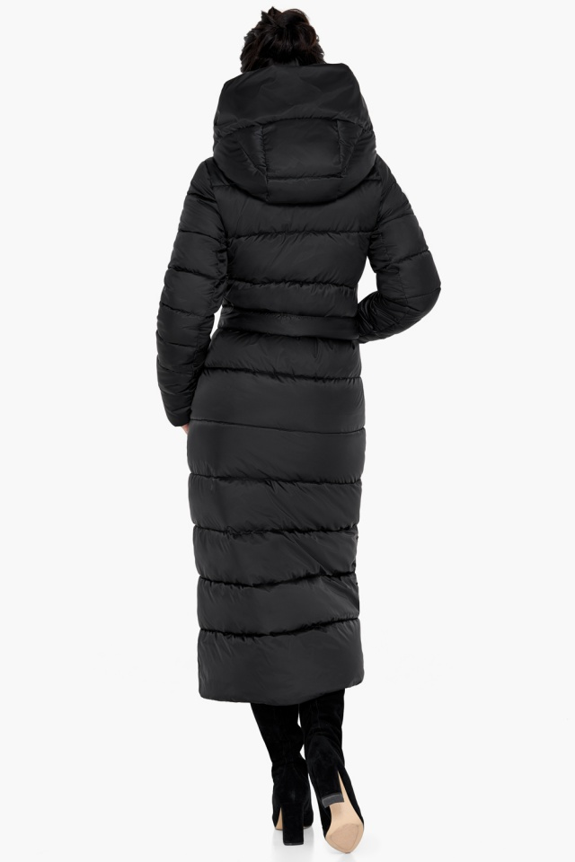 """Куртка чёрного цвета женская на зиму модель 31016 Braggart """"Angel's Fluff"""" фото 7"""