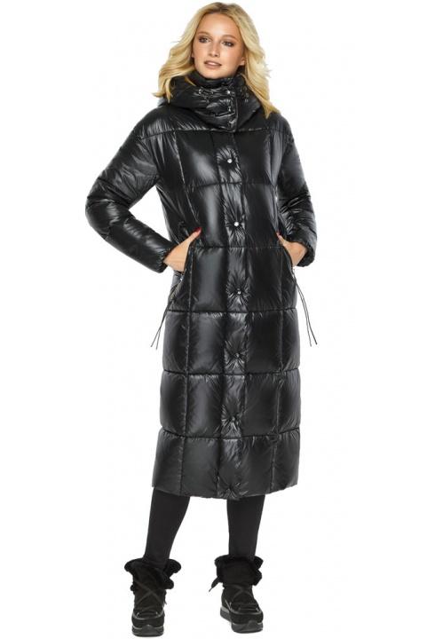 """Куртка женская зимняя чёрная комфортная модель 42830 Braggart """"Angel's Fluff"""" фото 1"""