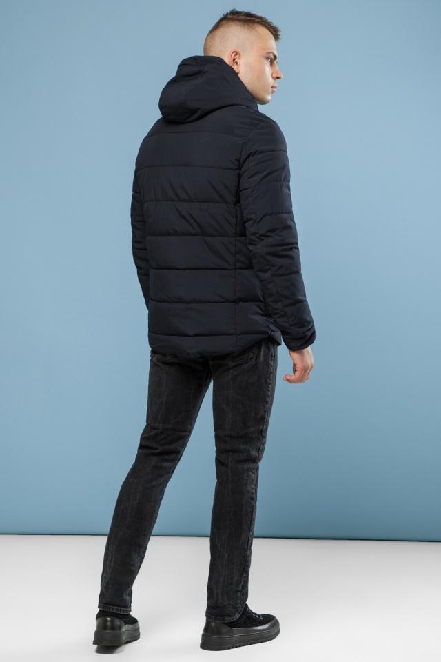 Мужская теплая куртка черная на зиму модель 6009 Kiro Tokao фото 5