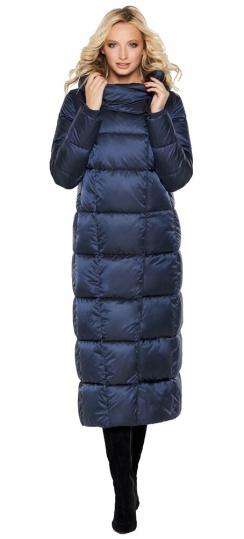 """Куртка женская модная на зиму цвет синий бархат модель 31056 Braggart """"Angel's Fluff"""" фото 1"""