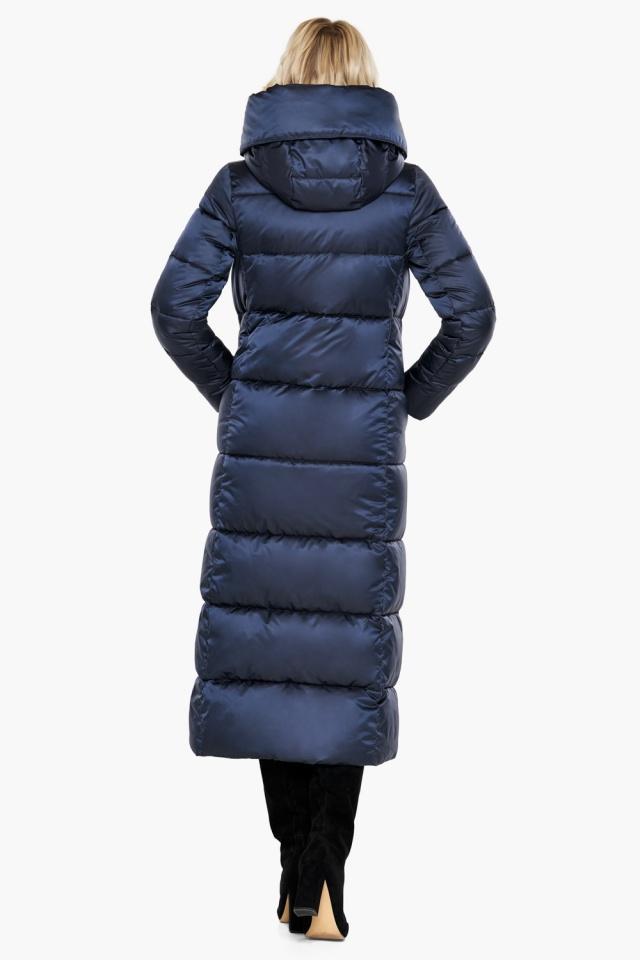 """Куртка женская модная на зиму цвет синий бархат модель 31056 Braggart """"Angel's Fluff"""" фото 8"""