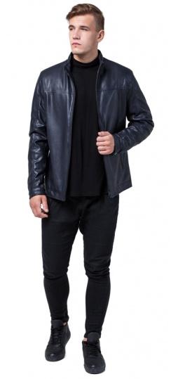 """Современная мужская осенне-весенняя куртка тёмно-синего цвета модель 2825 Braggart """"Youth"""" фото 1"""