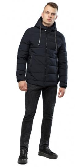 Мужская зимняя куртка чёрного цвета модель 6009 Kiro Tokao – Ajento фото 1