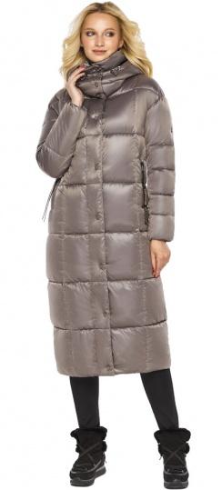 """Куртка теплая зимняя женская цвет кварцевый модель 42830 Braggart """"Angel's Fluff"""" фото 1"""