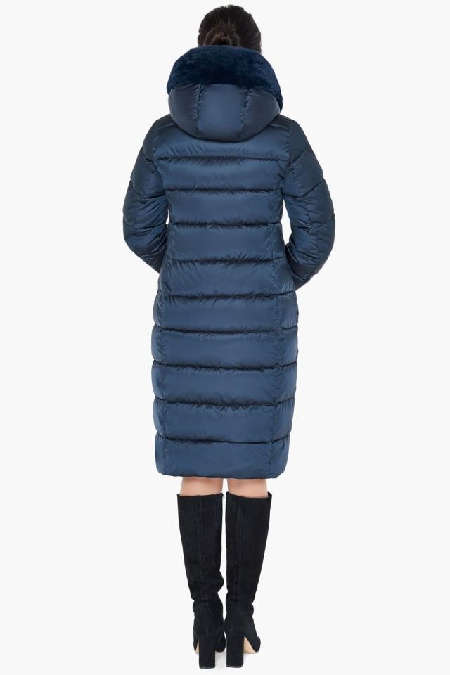 """Женская зимняя куртка цвет сапфировый модель 31049 Braggart """"Angel's Fluff"""" фото 7"""