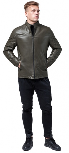 """Классическая осенне-весенняя куртка на мужчину цвет хаки модель 2825 Braggart """"Youth"""" фото 1"""