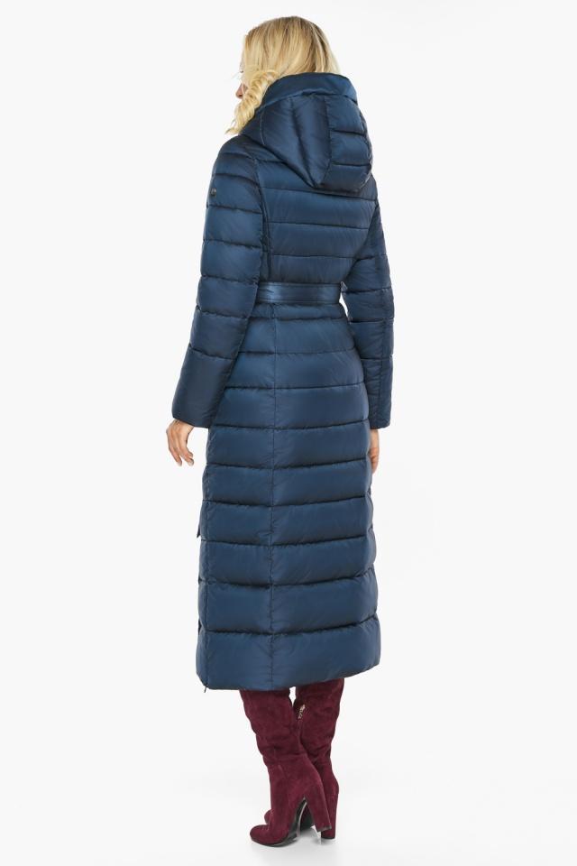 """Сапфировая куртка длинная женская модель 46620 Braggart """"Angel's Fluff"""" фото 9"""