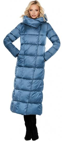 """Модная женская куртка зимняя цвет аквамарин модель 31056 Braggart """"Angel's Fluff"""" фото 1"""