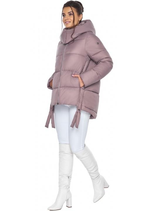 """Пудрова куртка жіноча на блискавці зимова модель 43070 Braggart """"Angel's Fluff"""" фото 1"""