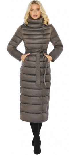 """Капучиновая куртка женская с манжетами модель 46620 Braggart """"Angel's Fluff"""" фото 1"""