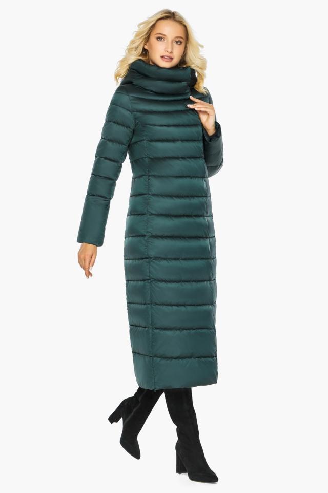 """Куртка тёплая изумрудная женская модель 46620 Braggart """"Angel's Fluff"""" фото 2"""
