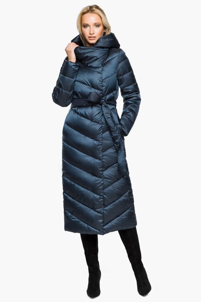 """Сапфировая куртка женская на зиму модель 31016 Braggart """"Angel's Fluff"""" фото 2"""