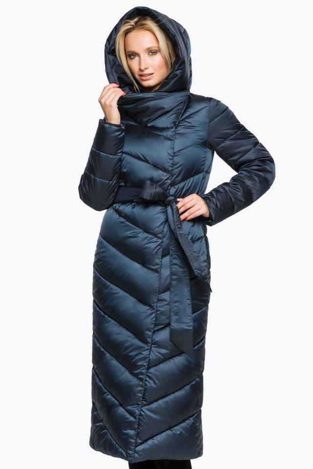 """Сапфировая куртка женская на зиму модель 31016 Braggart """"Angel's Fluff"""" фото 5"""