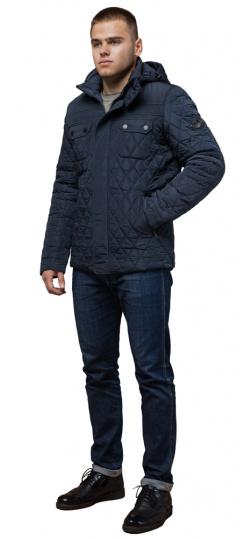 """Стильная куртка для зимы мужская светло-синяя модель 1698 Braggart """"Dress Code"""" фото 1"""