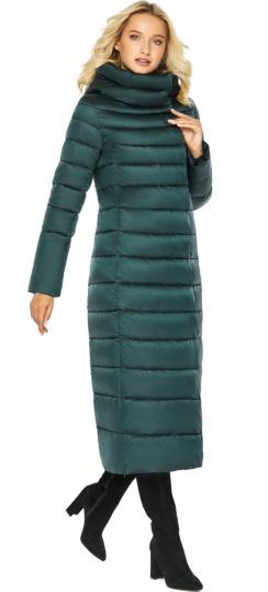 """Куртка тёплая изумрудная женская модель 46620 Braggart """"Angel's Fluff"""" фото 1"""