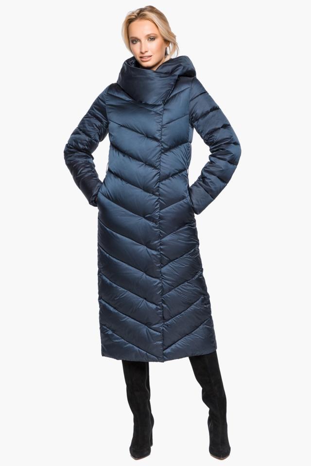 """Сапфировая куртка женская на зиму модель 31016 Braggart """"Angel's Fluff"""" фото 3"""