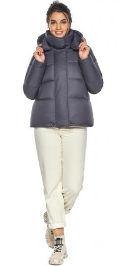 """Жемчужно-серая куртка женская осенне-весенняя удобного фасона модель 43560 Braggart """"Angel's Fluff"""" фото 1"""