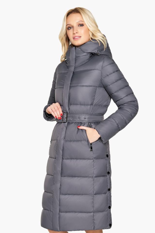 """Зимняя куртка женская цвет муссон модель 31052 Braggart """"Angel's Fluff"""" фото 3"""