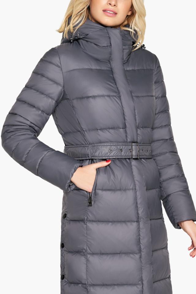 """Зимняя куртка женская цвет муссон модель 31052 Braggart """"Angel's Fluff"""" фото 6"""