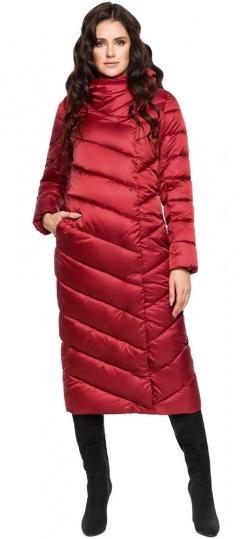 """Рубиновая куртка зимняя женская модель 31016 Braggart """"Angel's Fluff"""" фото 1"""