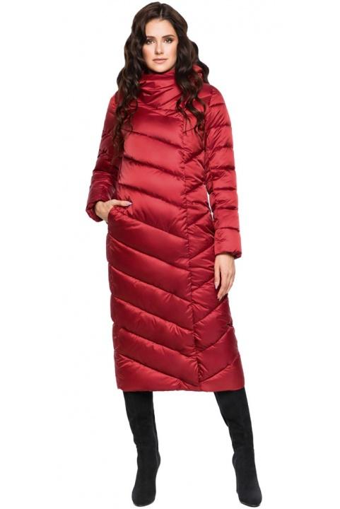 """Рубінова куртка зимова жіноча модель 31016 Braggart """"Angel's Fluff"""" фото 1"""