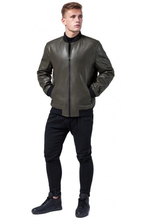 """Осенне-весенняя куртка на мужчину цвет хаки модель 4055 Braggart """"Youth"""" фото 1"""