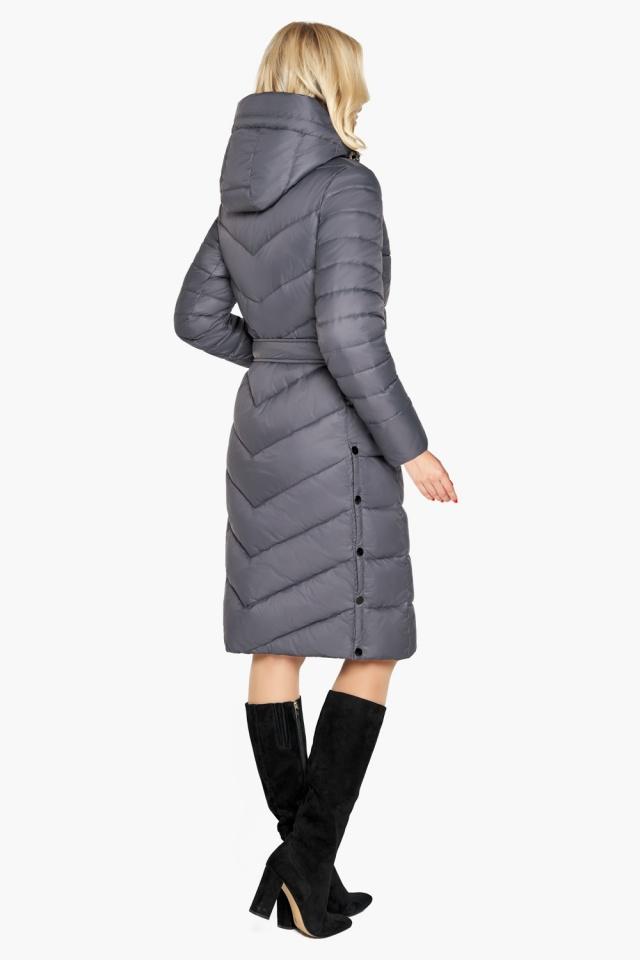 """Зимняя куртка женская цвет муссон модель 31052 Braggart """"Angel's Fluff"""" фото 5"""