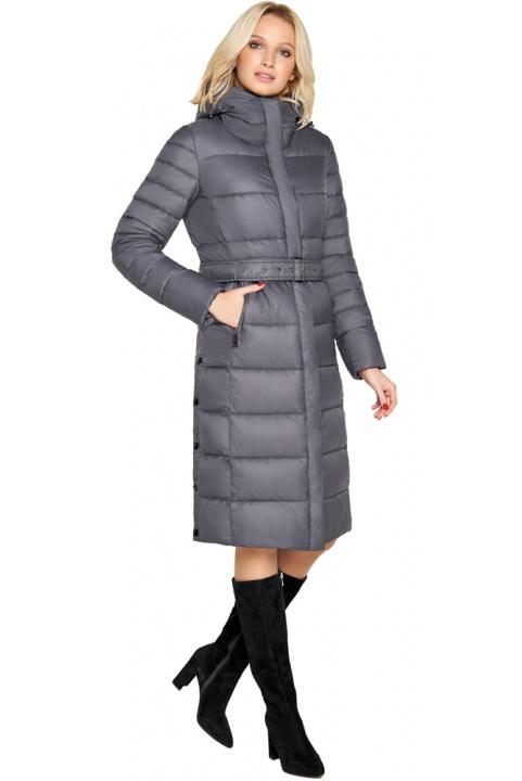 """Зимняя куртка женская цвет муссон модель 31052 Braggart """"Angel's Fluff"""" фото 1"""
