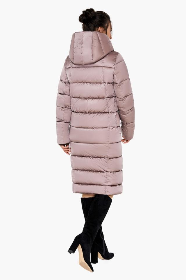 "Зимняя куртка тёплая женская цвета пудры модель 31028 Braggart ""Angel's Fluff"" фото 7"