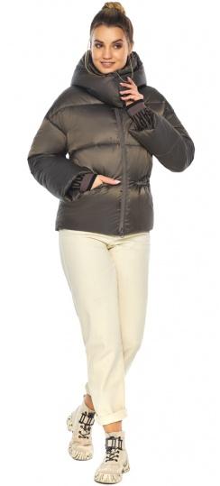 """Капучиновая куртка женская зимняя модель 41975 Braggart """"Angel's Fluff"""" фото 1"""