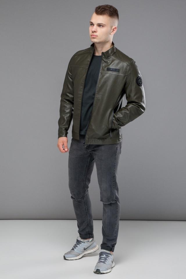 """Весенняя модная куртка для мальчика цвет хаки модель 25825 Braggart """"Youth"""" фото 2"""
