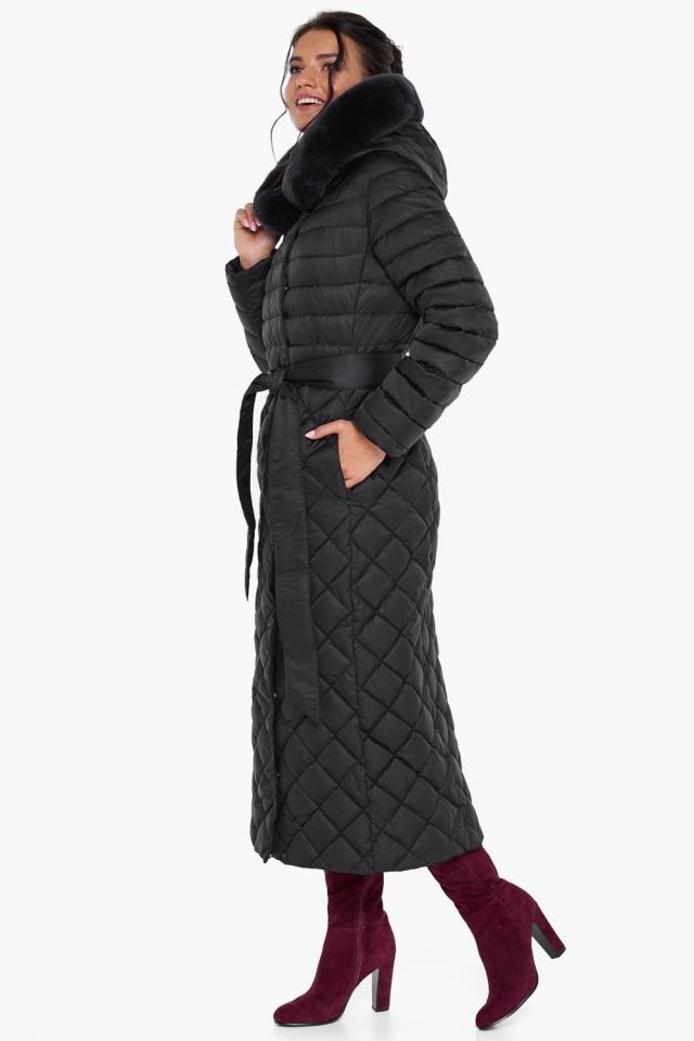 """Женская куртка стеганая цвет черный модель 31012 Braggart """"Angel's Fluff"""" фото 5"""