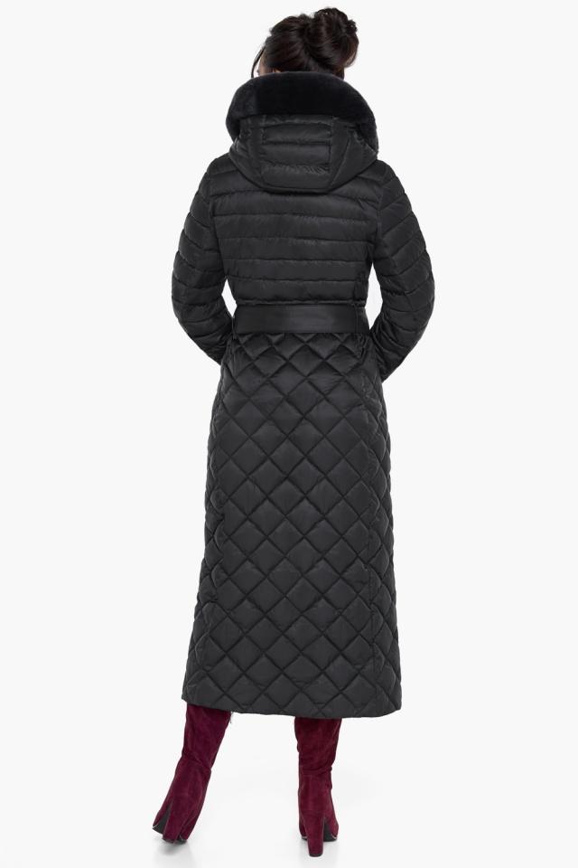 """Женская куртка стеганая цвет черный модель 31012 Braggart """"Angel's Fluff"""" фото 6"""