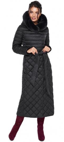 """Женская куртка стеганая цвет черный модель 31012 Braggart """"Angel's Fluff"""" фото 1"""