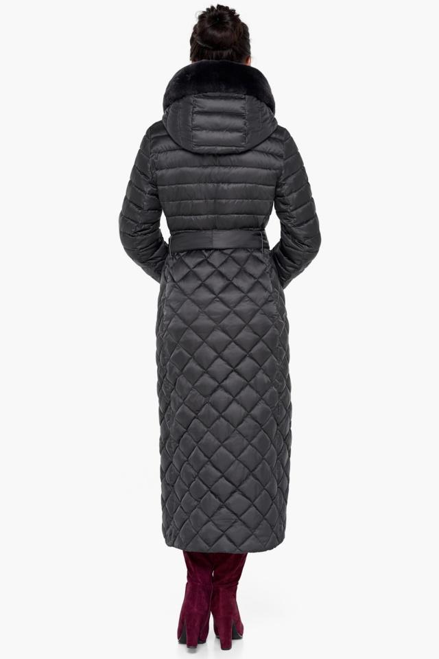 """Женская куртка графитовая оригинальная модель 31012 Braggart """"Angel's Fluff"""" фото 6"""