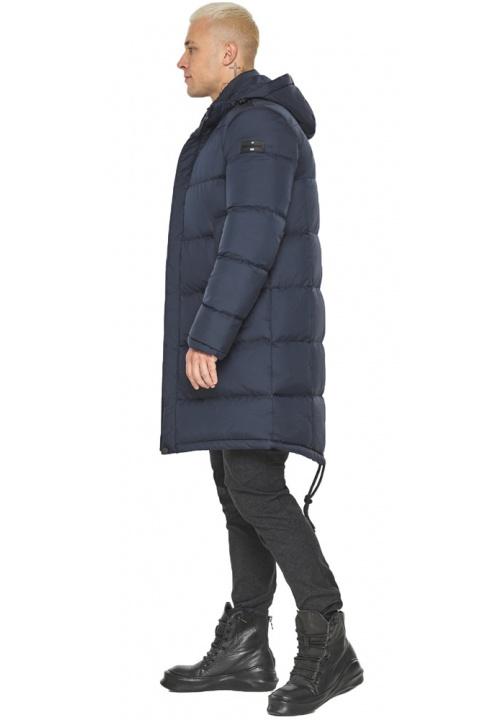 """Куртка мужская стильная тёмно-синяя модель 49015 Braggart """"Aggressive"""" фото 1"""