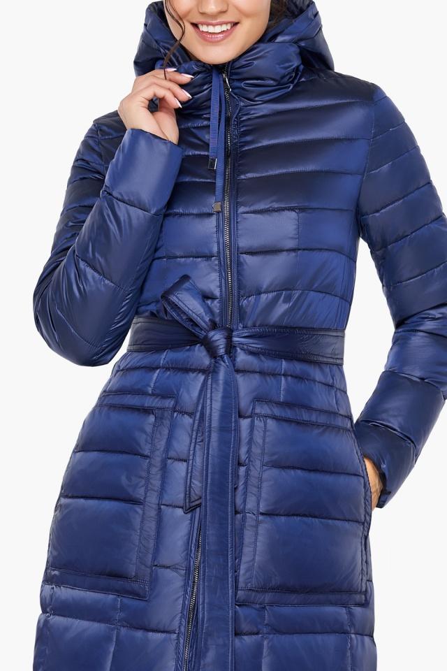 """Сапфировая куртка на змейке женская модель 31845 Braggart """"Angel's Fluff"""" фото 8"""
