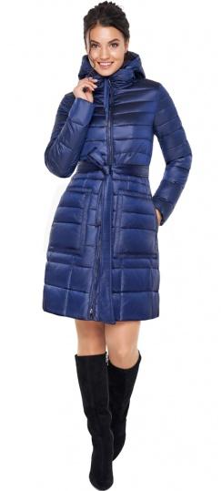"""Сапфировая куртка на змейке женская модель 31845 Braggart """"Angel's Fluff"""" фото 1"""