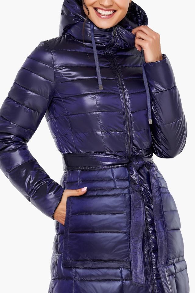 """Куртка с кулиской фиолетовая женская модель 31845 Braggart """"Angel's Fluff"""" фото 7"""