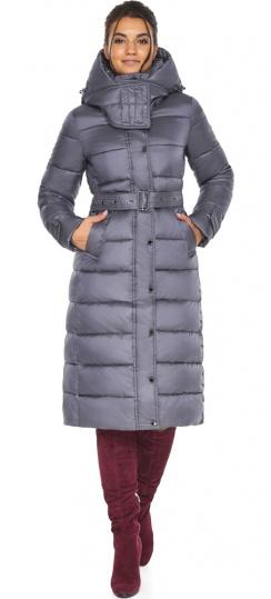 """Жемчужно-серая куртка женская на зиму модель 43110 Braggart """"Angel's Fluff"""" фото 1"""