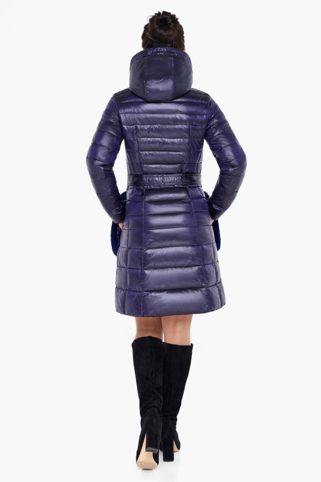 """Куртка с кулиской фиолетовая женская модель 31845 Braggart """"Angel's Fluff"""" фото 6"""