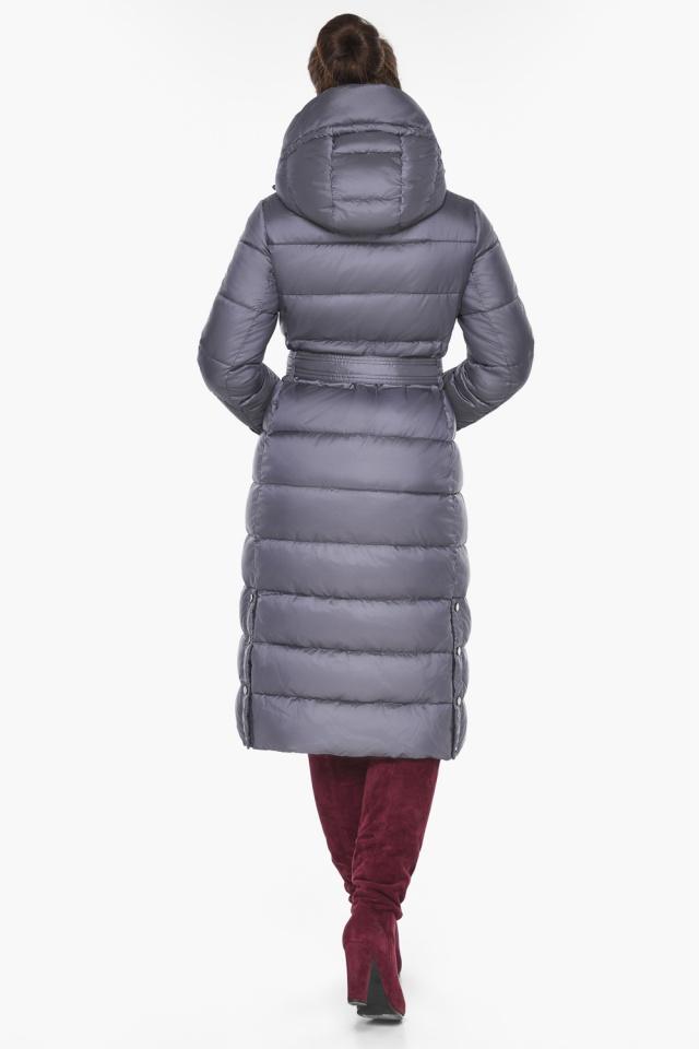"""Жемчужно-серая куртка женская на зиму модель 43110 Braggart """"Angel's Fluff"""" фото 7"""