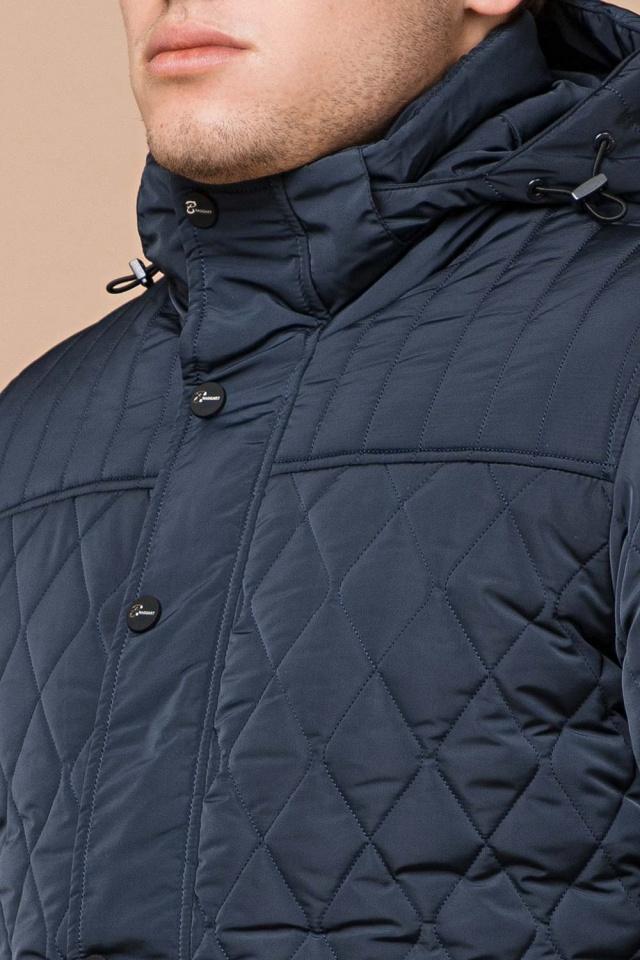 "Светло-синяя куртка для мужчин зимняя теплая модель 24534 Braggart ""Dress Code"" фото 6"