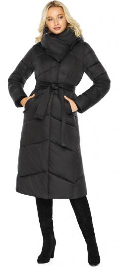 """Черная куртка с карманами женская модель 47260 Braggart """"Angel's Fluff"""" фото 1"""