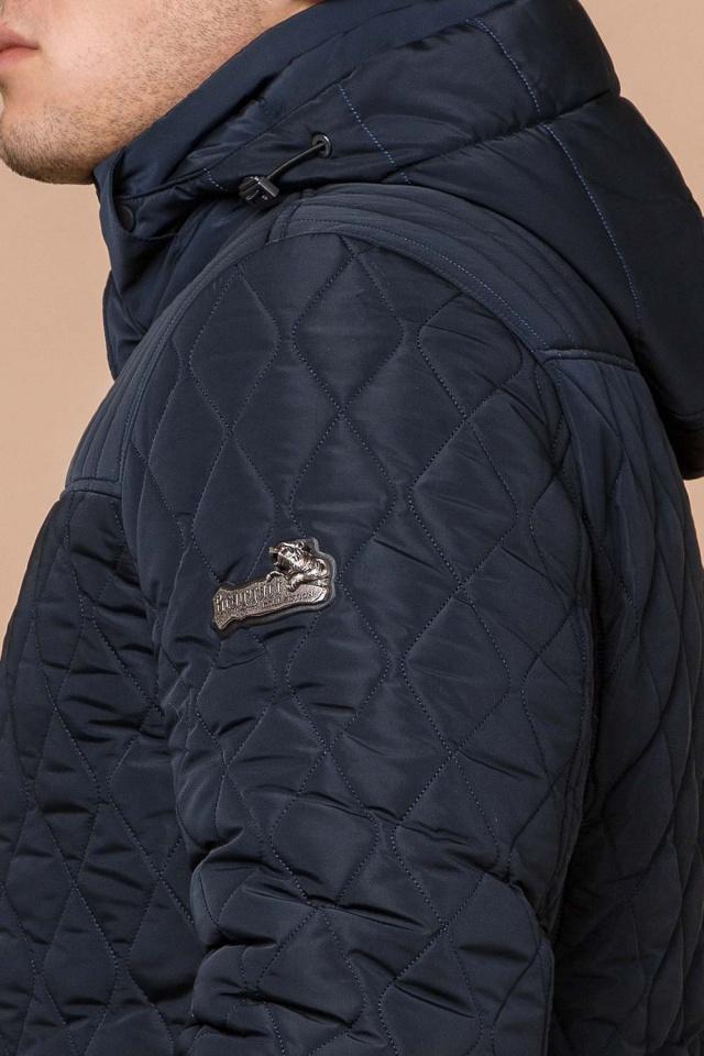 """Зимняя синяя мужская куртка на молнии модель 24534 Braggart """"Dress Code"""" фото 8"""