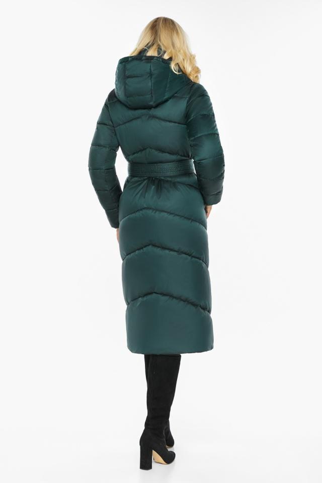 """Изумрудная куртка женская элегантная модель 47260 Braggart """"Angel's Fluff"""" фото 6"""